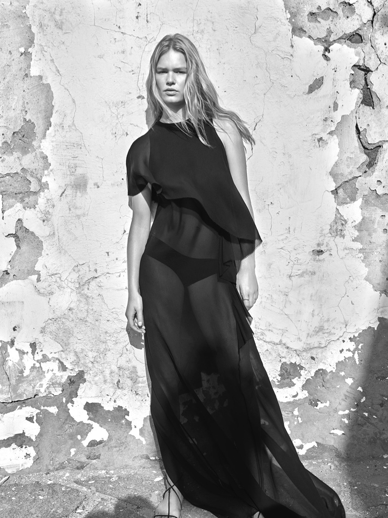 Anna Ewers stars in Mango's spring-summer 2018 campaign
