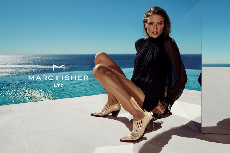 An image from Marc Fisher's spring 2018 advertising campaign
