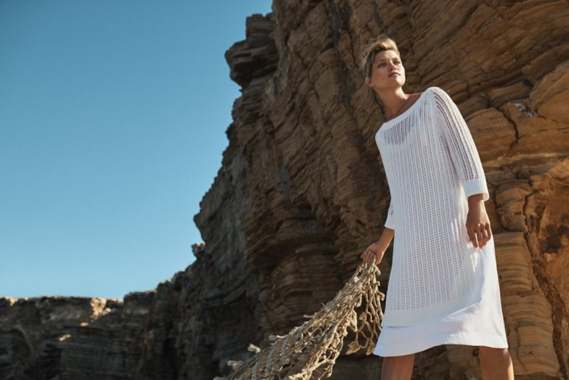 Hana Jirickova stars in Marc O'Polo's spring-summer 2018 campaign