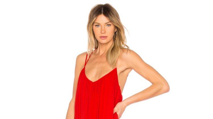 Michael Costello x REVOLVE Maren Gown in Red $328