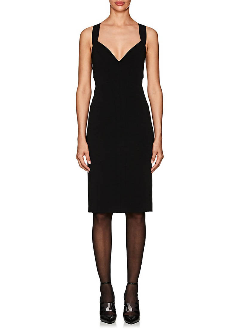 Narciso Rodriguez Compact-Knit Fitted Dress $2,395