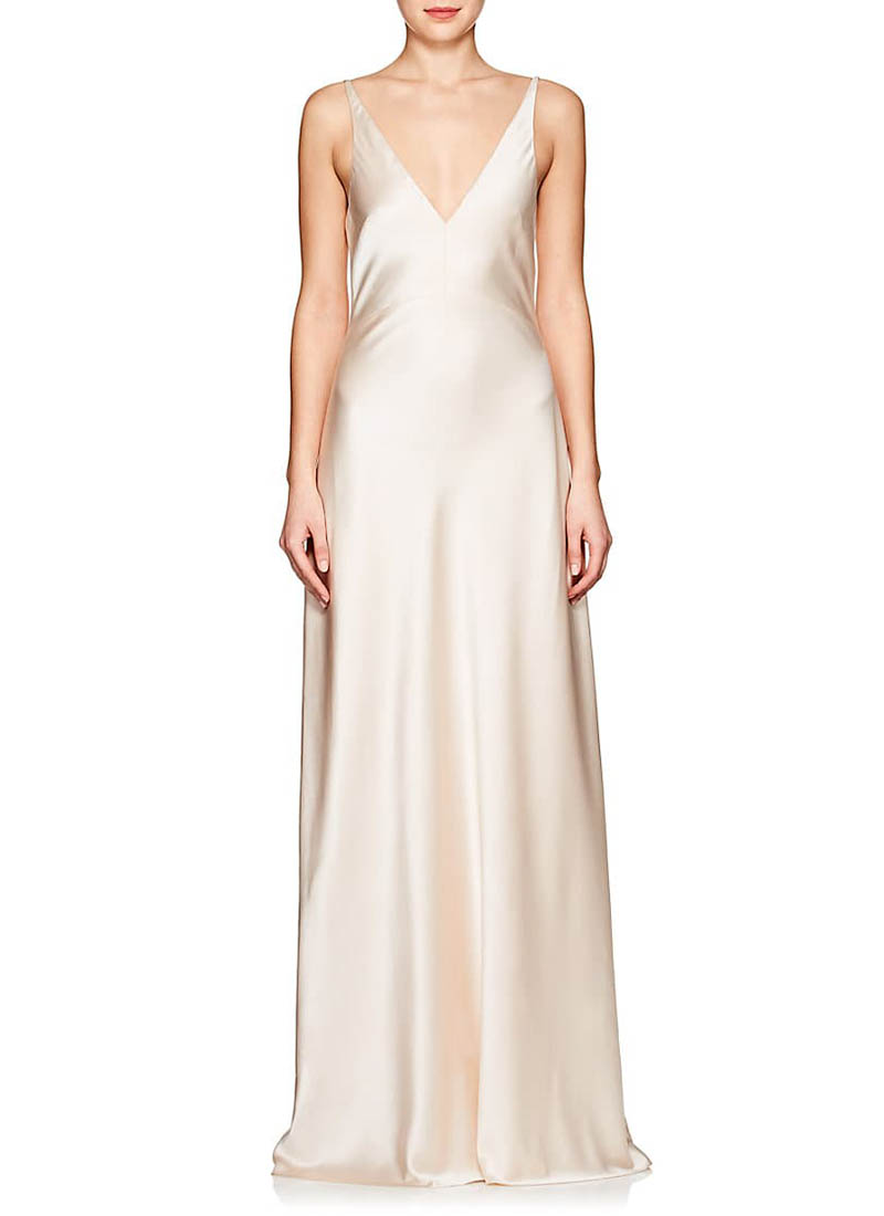 Narciso Rodriguez Silk Charmeuse Gown $2,995