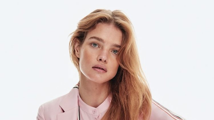 Natalia Vodianova Models Pretty Pastels for InStyle Spread