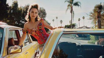 Natalie Portman Poses in Red-Hot Styles for PORTER Magazine