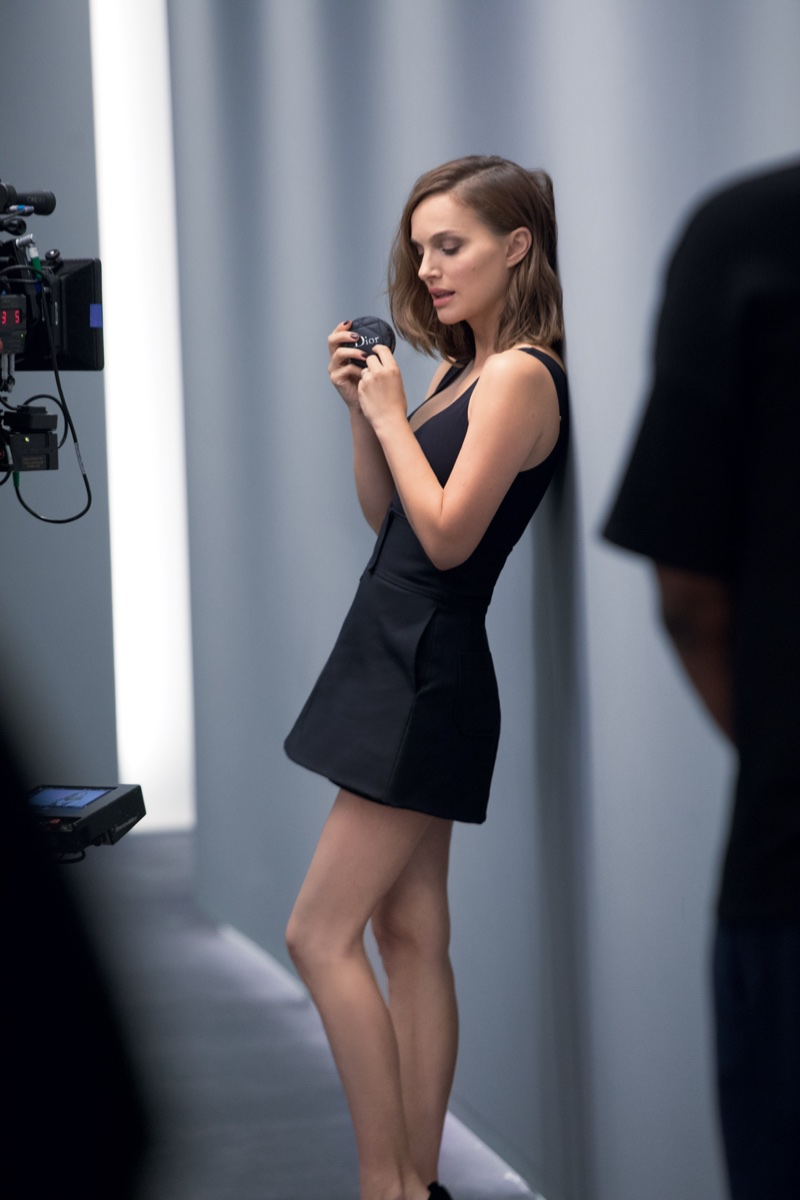 BEHIND THE SCENES: Natalie Portman for Diorskin