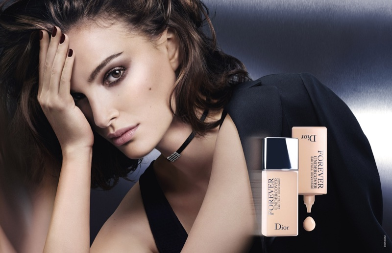 Natalie Portman stars in Dior Diorskin Forever Undercover Foundation campaign