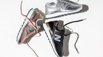 New Balance 574 Glitter Punk Sneakers