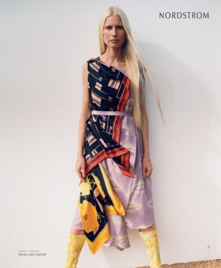 Kirsty Hume stars in Nordstrom's spring 2018 campaign