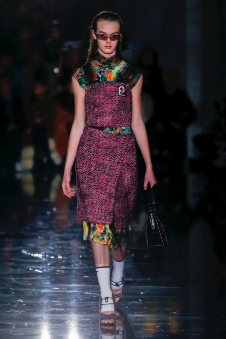 Prada Lights Up the Night for Fall 2018