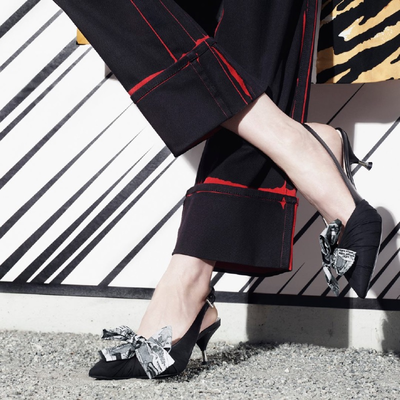 Prada focuses on shoes for 365 Real Life spring-summer 2018 campaign