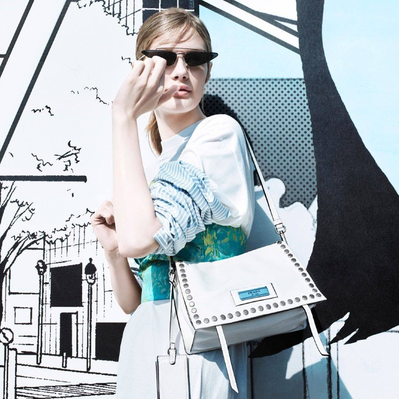 An image from Prada's 365 Real Life spring-summer 2018