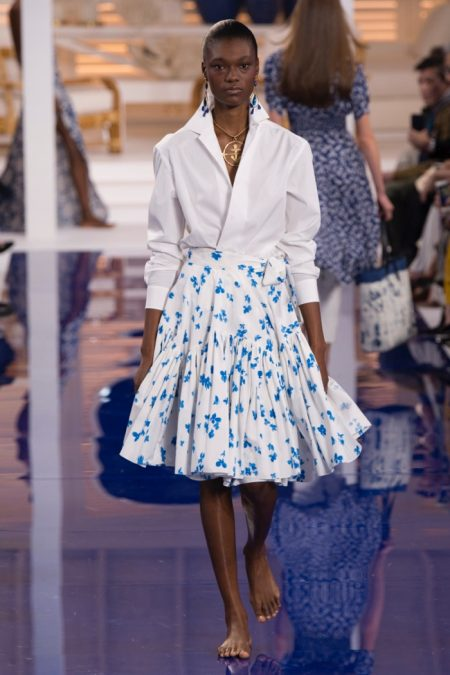 Ralph Lauren Channels Island Vibes for Spring 2018