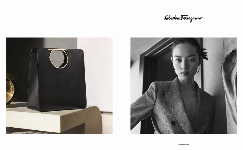 Salvatore Ferragamo taps Fei Fei Sun for spring-summer 2018 campaign