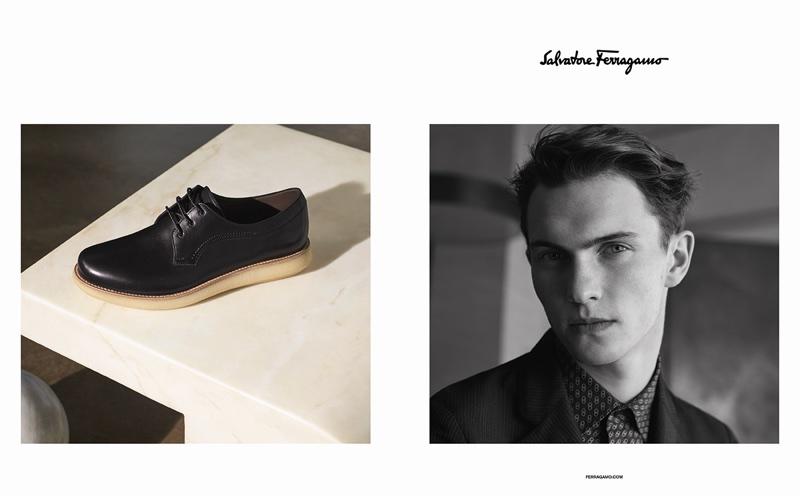 Italian label Salvatore Ferragamo taps Luc Defont-Saviard for spring 2018 advertising campaign