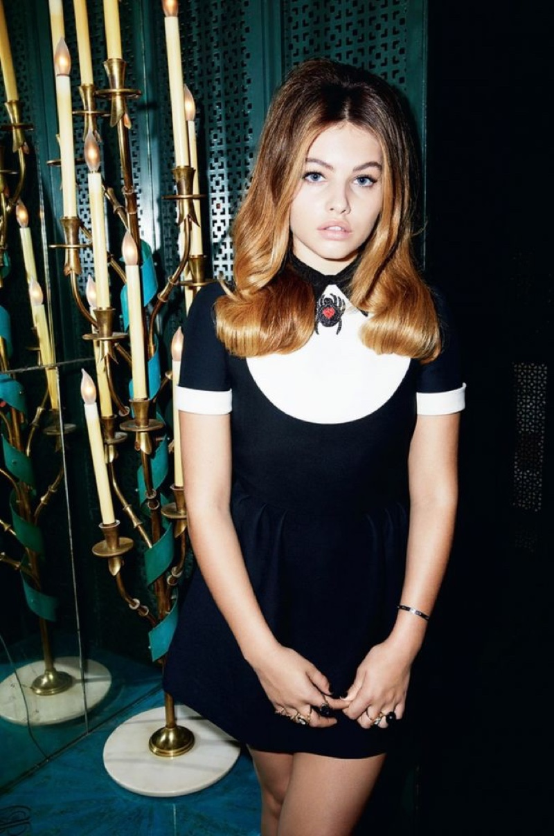 Thylane Blondeau Poses in Chic Styles for LOVE Magazine