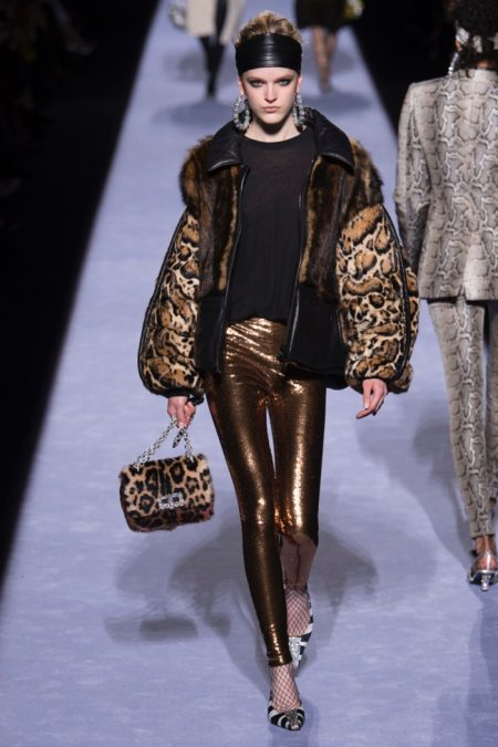 Tom Ford Channels the 80's for Fall 2018