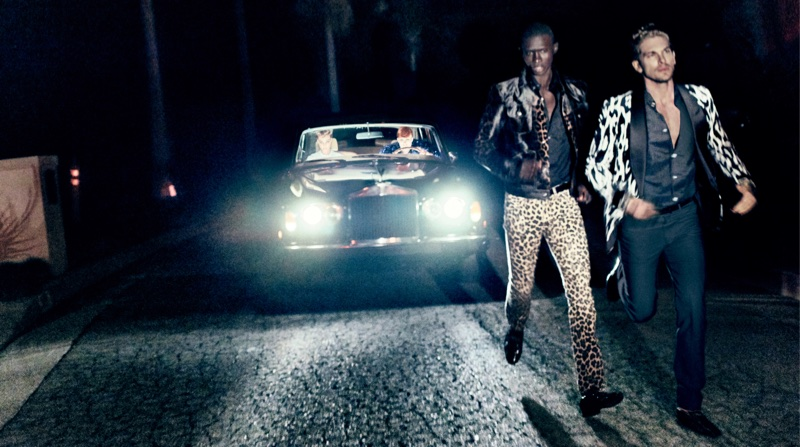 Fernando Cabral and Adam Senn are on the run for Tom Ford's spring-summer 2018 campaign