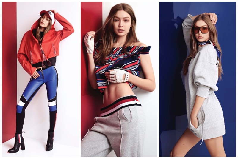 Tommy x Gigi spring 2018 clothing