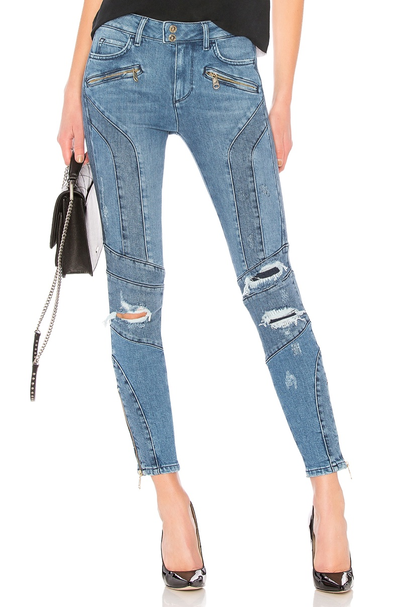 Tommy x Gigi Venice HW Ankle Speed Jean $199
