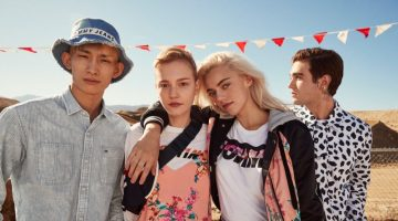 Tommy Jeans embraces pastels for spring-summer 2018 campaign
