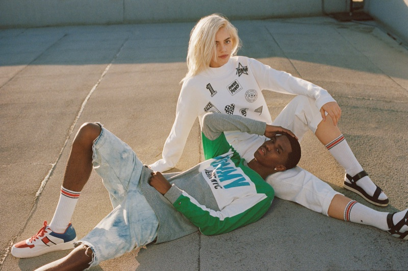 Tommy Jeans taps Christian King Combs and Pyper America Smith for spring-summer 2018 campaign