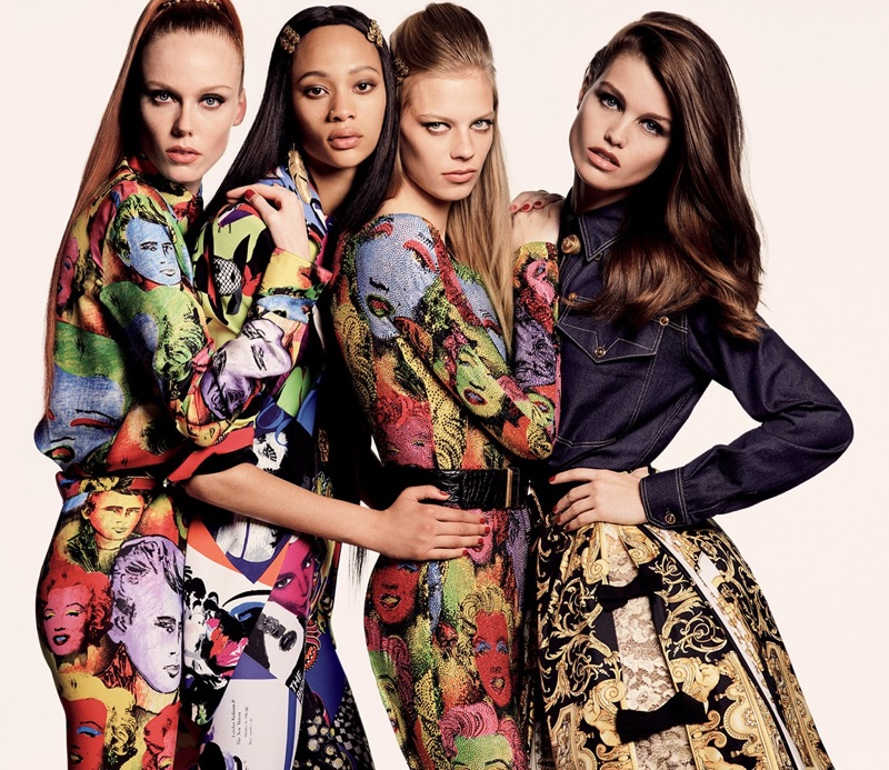 Luna, Lexi, Selena & Kiki Rock the Spring Collections for Vogue Japan