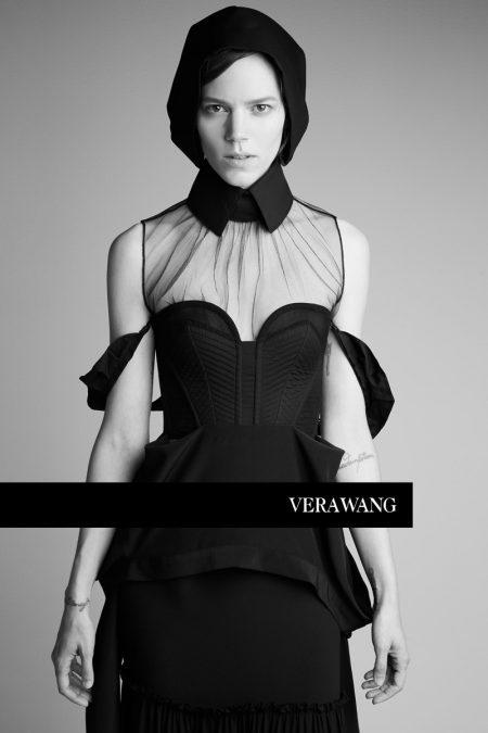 Freja Beha Erichsen stars in Vera Wang's spring-summer 2018 campaign