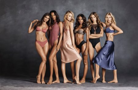 Taylor Hill, Lais Ribeiro, Romee Strijd, Jasmine Tookes, Josephine Skriver and Elsa Hosk star in Victoria's Secret Sexy Illusions 2018 campaign