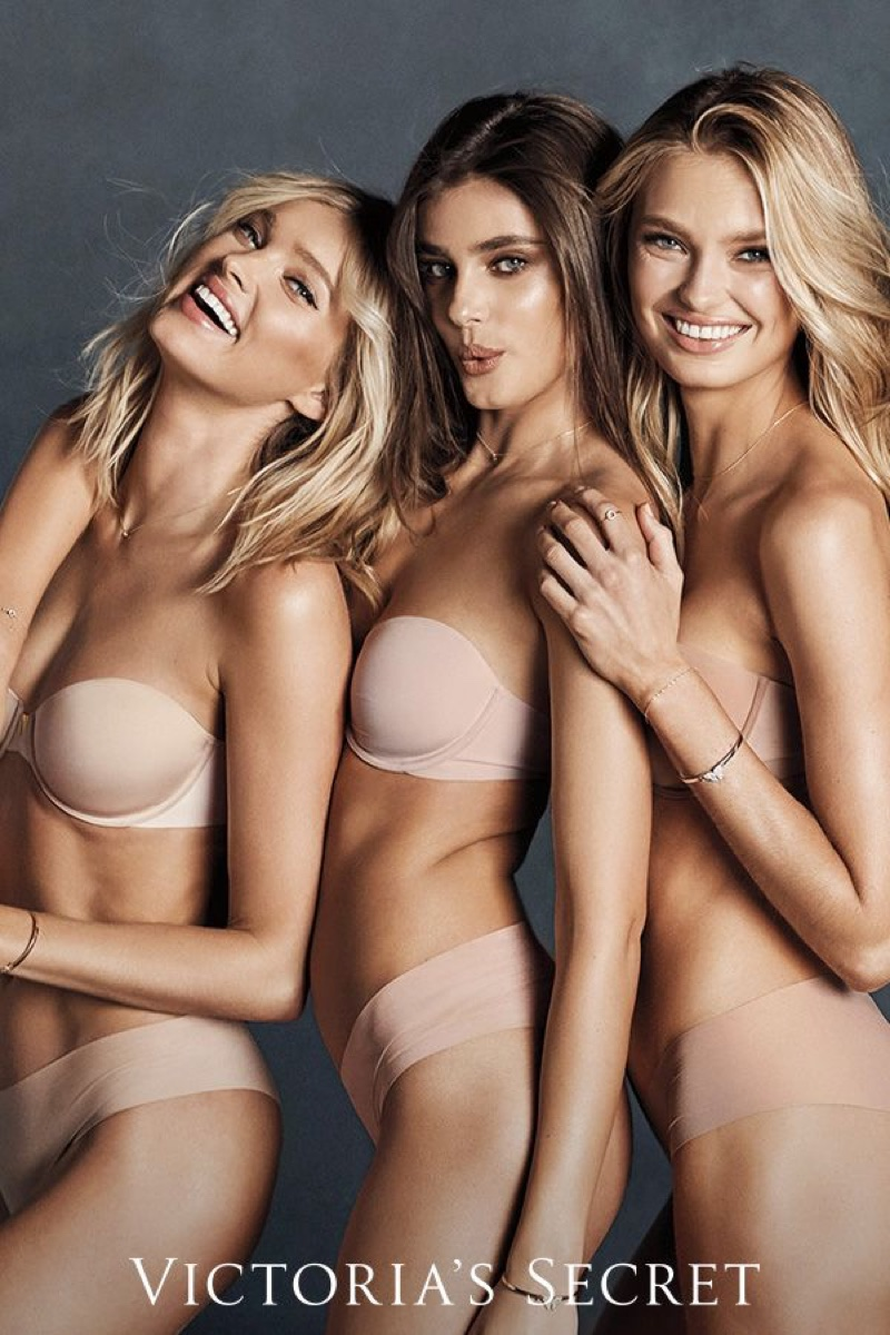 Elsa Hosk, Taylor Hill and Romee Strijd star in Victoria's Secret Sexy Illusions 2018 campaign