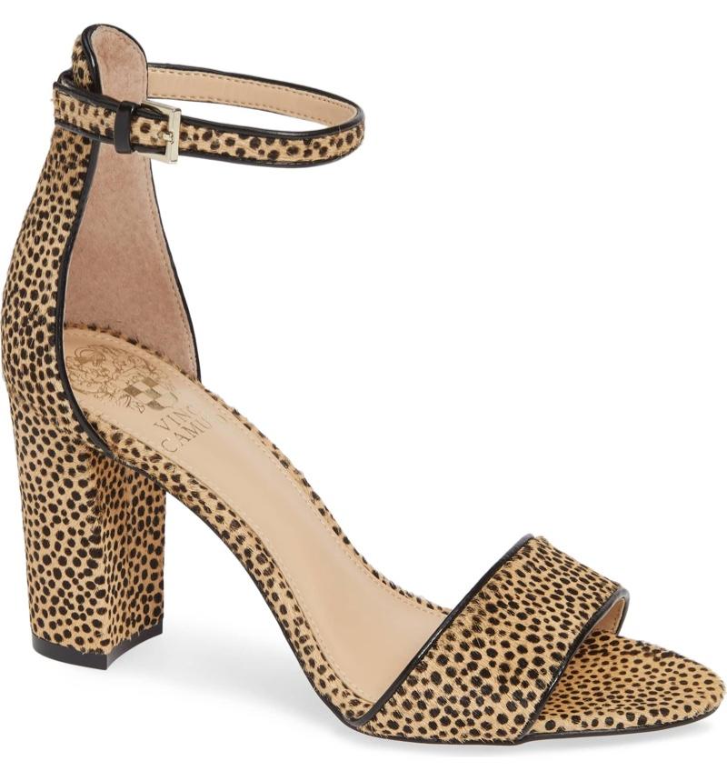 Vince Camuto Corlina Genuine Calf Hair Ankle Strap Sandal $59.96 (previously $99.95)