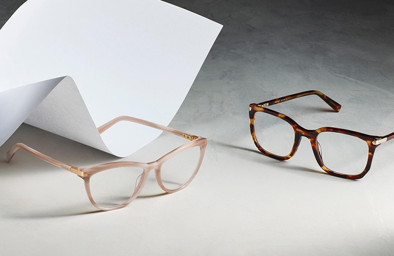 Warby Parker Epigraph glasses eyewear