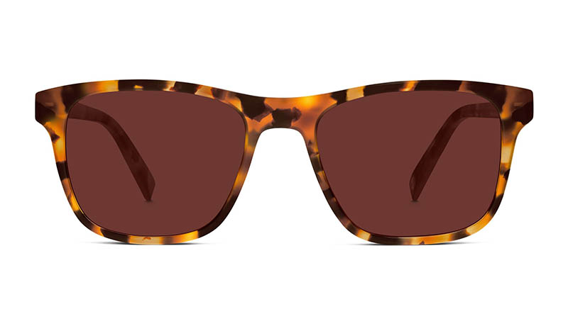 Warby Parker x Justin Timberlake Wave I Sunglasses in Canyon Tortoise $95