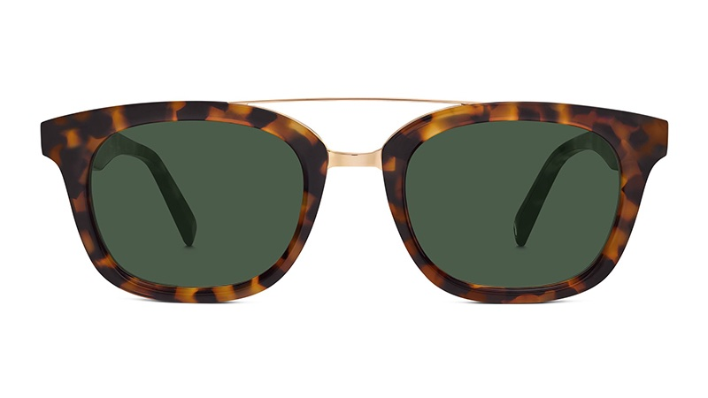 Warby Parker Yates Sunglasses in Acorn Tortoise $145
