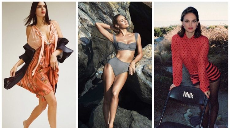 Week in Review | Kendall Jenner's New Cover, Candice Swanepoel Launches Swim, Natalie Portman for PORTER + More