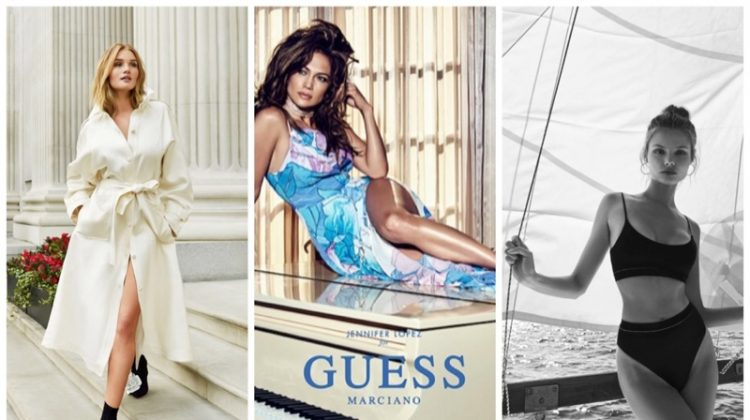 Week in Review | Rosie HW's New Cover, Jennifer Lopez for GUESS, Magdalena Frackowiak's Swim Ads + More