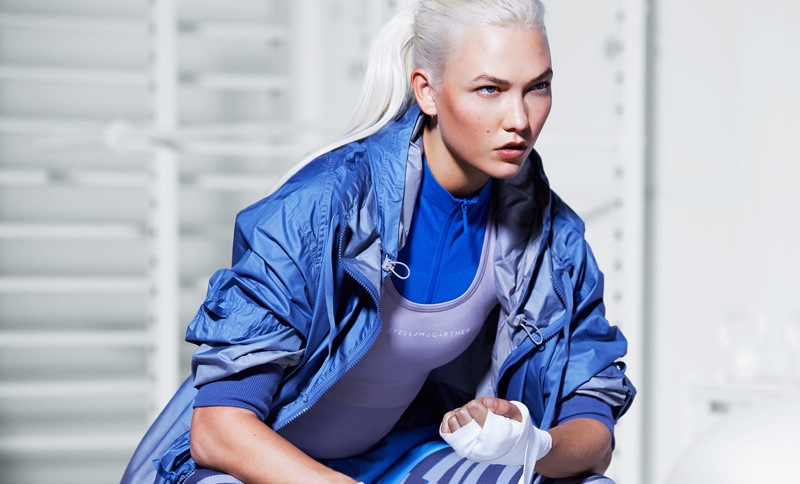 Karlie Kloss stars in adidas by Stella McCartney's spring-summer 2018 campaign