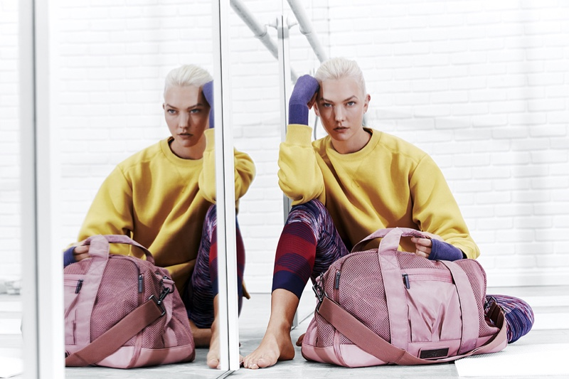 adidas by Stella McCartney taps Karlie Kloss for spring 2018 campaign