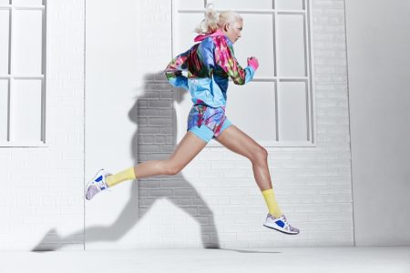 Karlie Kloss Keeps in Shape for adidas by Stella McCartney Spring '18 Ads