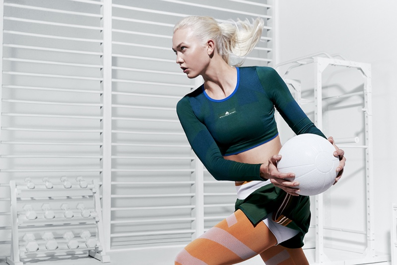 An image from adidas by Stella McCartney's spring 2018 advertising campaign