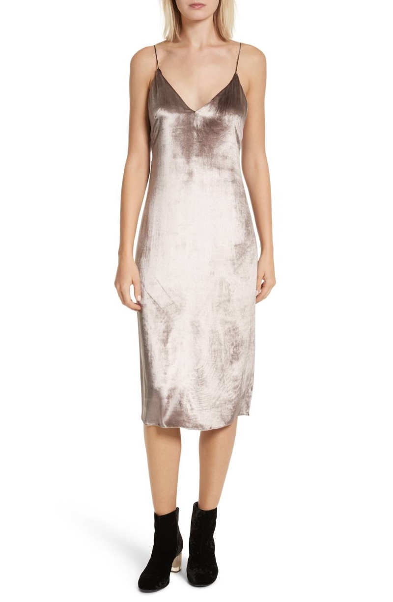 rag & bone Parker Velvet Slip Dress $296.98 (previously $495)