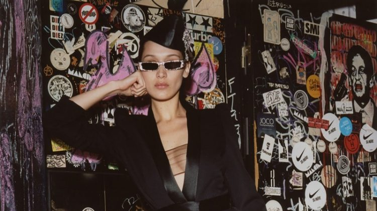 Bella Hadid is the Perfect Muse for Alexandre Vauthier's Fall 2018 Collection