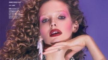 Alisa Ahmann Turns Up the Shine Factor for Vogue Arabia