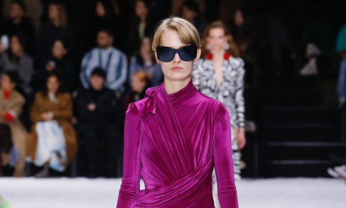 Balenciaga Focuses on Fit for Fall 2018
