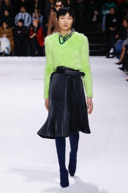 Balenciaga Focuses on Fit for Fall 2018