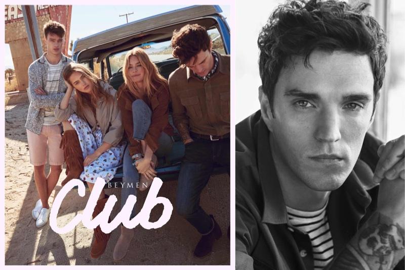 Filip Hrivnak, Julia Jamin, Camille Rowe and Josh Beech star in Beymen Club's spring-summer 2018 campaign