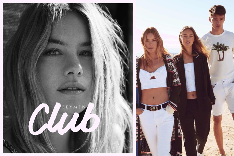 Camille Rowe stars in Beymen Club's spring-summer 2018 campaign