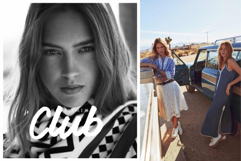 Julia Jamin fronts Beymen Club's spring-summer 2018 campaign
