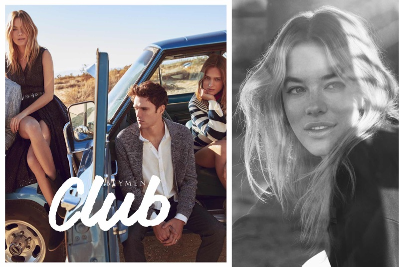 Camille Rowe appears in Beymen Club's spring-summer 2018 campaign