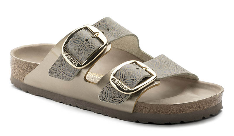 20943b06b8c6 Birkenstock Arizona Big Buckle Sandal in Ceramic Pattern Blue  150