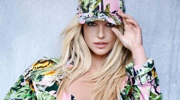 Britney Spears Rocks 90's Style for Kenzo Campaign